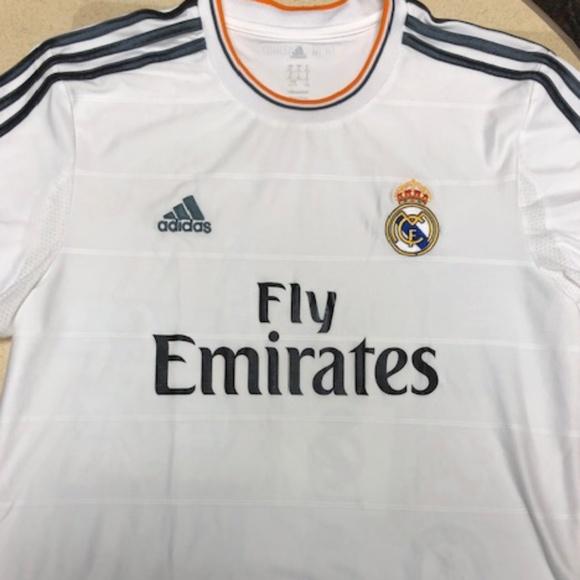 cheap for discount 46a33 63375 Real Madrid 13-14 HOME Jersey XL (Ronaldo, Bale)